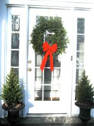 Front Door Decorating Christmas Front Door Decorating Ideas 1261 Latest Decoration