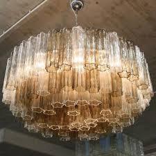 vintage murano glass chandelier 1