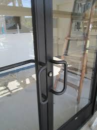 images of commercial aluminum door handles