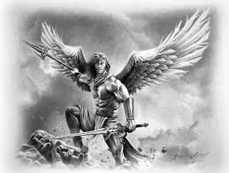 Angel Sketch Angel Warrior Drawings Sketch Illustration By Miro