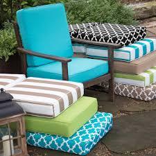 lounge chair cushions sunbrella elegant outdoor seat cushions pristine chair clearance