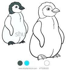 Penguin Coloring Sheet