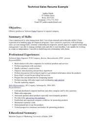Technical Sales Resume Examples Shoe Sales Resume Simply Sarah Me