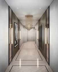 hallway lighting ideas Argent Design's interiors for Thackeray's Dover  House development in Waterloo
