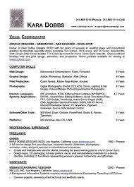 Web Designer Resume Interesting Web Designer Resume