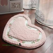 oval bath mat rose fl soft floor mats heart shape and oval slip resistant rug pink oval bath mat
