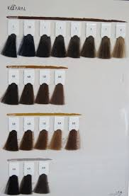 Kaaral Hair Color Chart