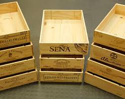 Wine Crates, Wine Boxes - Trays (1/2 Height, 6-bottle