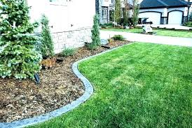 Backyard Landscape Designs Interesting Concrete Tree Ring Concrete Tree Ring Landscape Ideas Curbing Rings