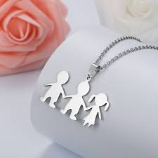 <b>HOBBORN Trendy Women</b> Pendants Necklaces 316L Stainless ...