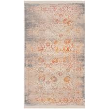 vintage persian gray multi 3 ft x 5 ft area rug