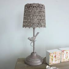 shabby chic bedroom lamp brown bird design vintage effect table lamp home decorative item shabby chic shabby chic bedroom lamp