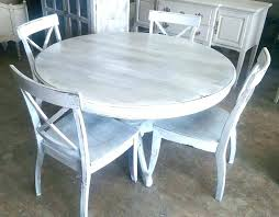 exclusive ideas grey wash dining table washed round best gray tables on niopysp with