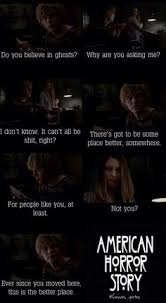 Ahs Quotes New Love Tate Langdon American Horror Story Violet Harmon Roses Love