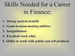 What Are Analytical Abilities Finance Its All About The Money 100 Today 100 In One Year Why