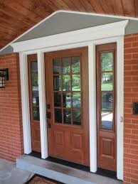 wooden entry door with 2 side panels location st louis mo