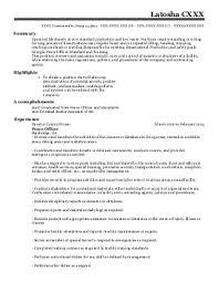 find resume examples in blakely  ga   livecareerlatosha c    correctional officers resume   blakely  georgia