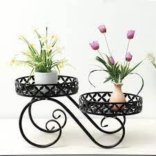 plant flower pot rack