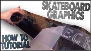 Design Your Own Skate Deck How To Make Your Own Skateboard Graphics Tutorial