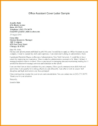 Administrative Specialist Cover Letter Office Manager Cover Letter ...