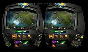 you can play dota 2 in the rift with this virtual cockpit kitguru