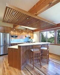 kitchen bar lighting. Modern Bar Lighting Kitchen Lights Contemporary With Wood Slat Ceiling Platform Two Tier Island .