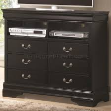 Louis Philippe Bedroom Furniture Philippe 201079 Bedroom In Black By Coaster W Options