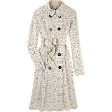 burberry lace trenchcoat tdf