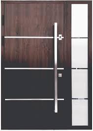 modern entry door hardware. Modern Entry Door Handles Sofia Stainless Steel In Walnut Finish Hardware O