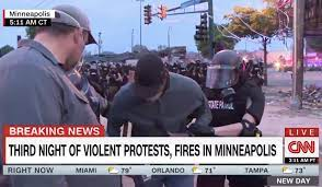 George Floyd Riots -- CNN Reporters Arrested While Live On Air in  Minneapolis
