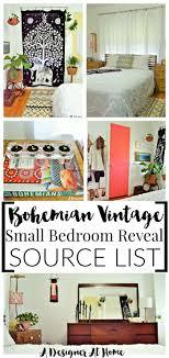 Boho Eclectic Decor Boho Vintage Eclectic Bedroom Sources A Designer At Home