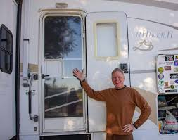 winter rving tips shrink wrap rv screen door