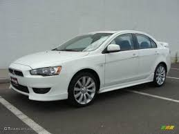 2008 Wicked White Mitsubishi Lancer GTS #17698558 | GTCarLot.com ...