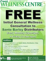 Free Wellness Consultation For Sante Business Owner