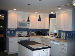 kitchen backsplash glass tile white cabinets. Top 88 Hunky-dory Kitchen Tile Backsplash Ideas With White Cabinets Blue â\u20ac\u201d New Basement Options Stone Designs Mirror Brick Glass Mosaic Vision R