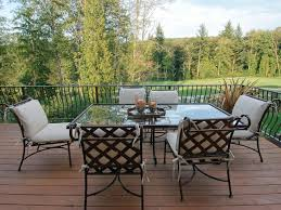 how to properly clean glass top patio tables home furniture and