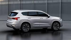 Discover the 2021 hyundai santa fe: Hyundai Santa Fe Or Santa Nay See How The Facelifted 2021my Stacks Up To Its Predecessor Carscoops