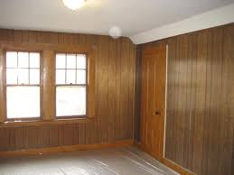 how to paint wood paneling walls