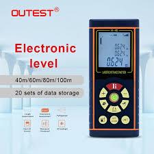 OUTEST <b>Digital</b> Laser Distance Meter 40M <b>60M 80M 100M</b> Laser ...