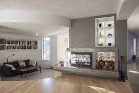 parry sound renovation by altius architecture best 10 3 sided fireplace ideas on modern fireplace