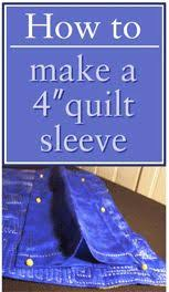 How to Hang A Quilt on a Wall | How to hang, As and Videos & How to make a 4