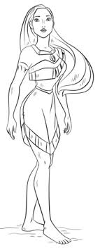 Small Picture Pocahontas coloring pages Free Coloring Pages