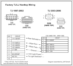 06 jeep wrangler wiring diagram wiring diagram schematics 97 hardtop wiring diagram jeepforum com