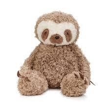 furriends sam the sloth plush toy sloth