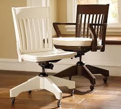swivel desk chair pottery barn antique swivel office chair