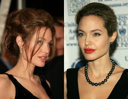 Angelina Jolie Hair Style celebrity inspired fancy wedding updo hairstyles to plan you bride 7363 by stevesalt.us