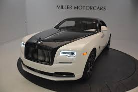 rolls royce wraith white and black. new 2017 rollsroyce wraith black badge greenwich ct rolls royce white and miller motorcars