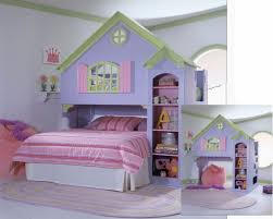 Pink And Blue Bedroom Fetching Image Of Girl Bedroom Decoration Using White Metal Pink