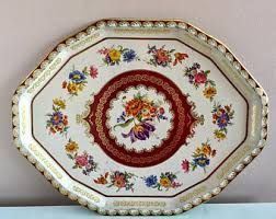 Daher Decorated Ware 11101 Tray Daher metal tray Etsy 89