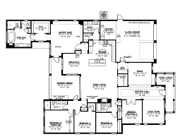 Floor Plans For 5 Bedroom Homes Decor Collection